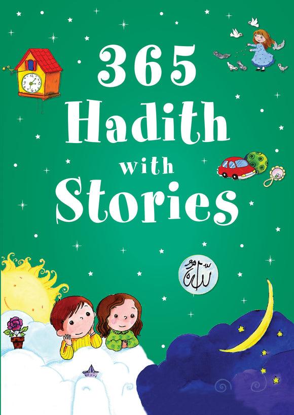 365 hadith with stories islamic book