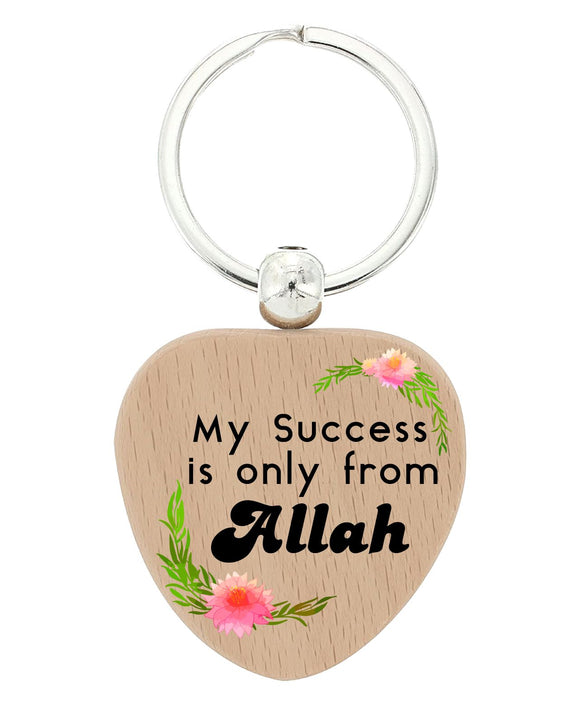 Islamic  Heart keychains Design 3