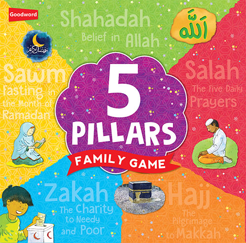 5 Pillars FAmily GAme - The Islamic Kid Store