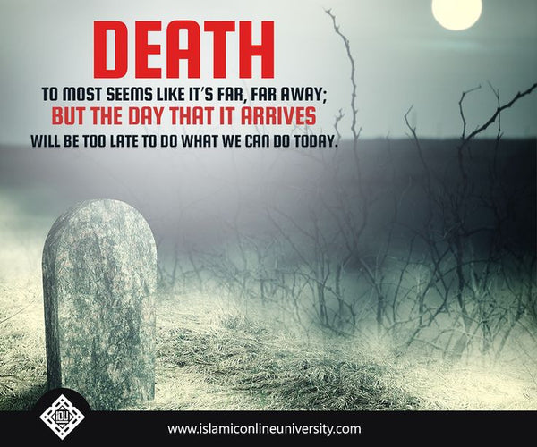 When Death arrives workshop ...Notes PArt 1 ( Arrival of death,Iddah) - The Islamic Kid Store