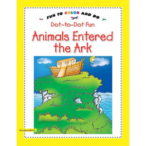 Animals entered the Ark ( Dot to Dot fun) - The Islamic Kid Store