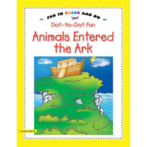 Animals entered the Ark Islamic story book