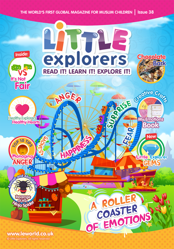 Little Explorers – Learn all about Emotions  Issue 38