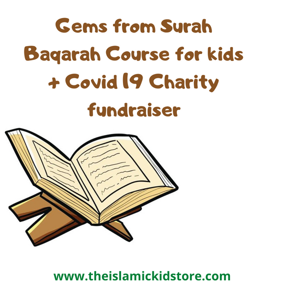 FREE Gems from Surah Baqarah Course for kids ( Ages 7-14 yrs)+ Charity Fundraiser ( DOWNLOAD LINK BELOW) - The Islamic Kid Store