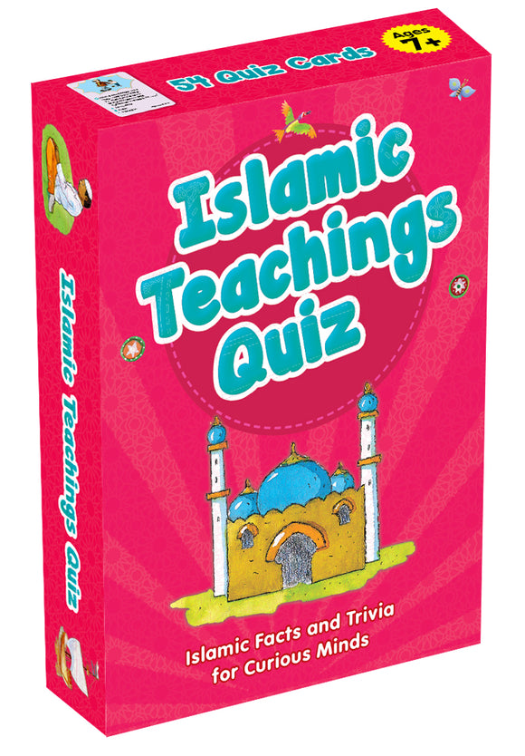 Islamic teachings Quiz cards - The Islamic Kid Store