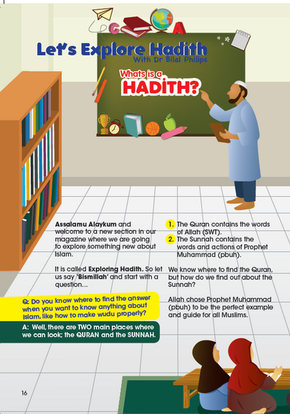 Little Explorers -Exploring Hadith ( Issue 9)