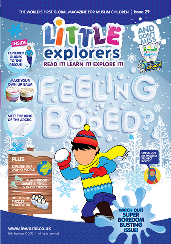 Little Explorers -Beat the boredom ( Issue 29)