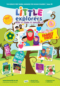 Little Explorers -It's all about family ( Issue 32)