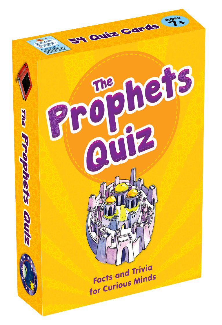 The Prophets Quiz Cards - The Islamic Kid Store