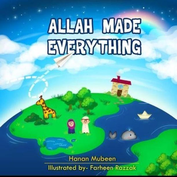 Allah made everything ( FREE SHIPPING)