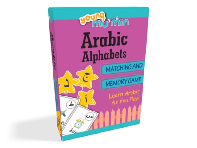 Arabic Alphabet and Memory Game - The Islamic Kid Store