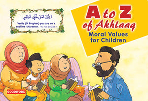 A to Z of Akhlaaq - The Islamic Kid Store