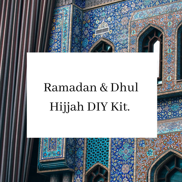 Ramadan & Dhul Hijjah DIY kit - The Islamic Kid Store