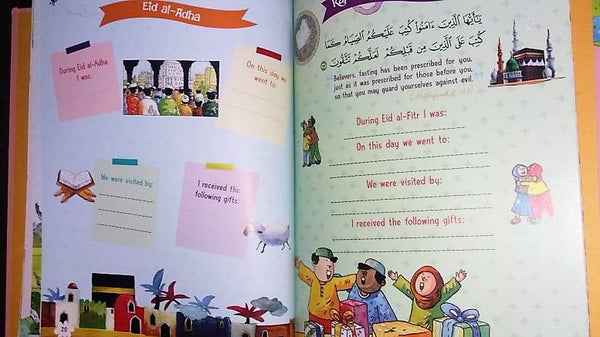 Muslim Bay Book ( For Girls) - The Islamic Kid Store