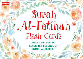 Surah Fatihah flash cards - The Islamic Kid Store