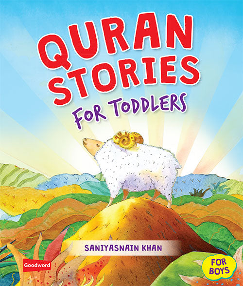 Quran stories for Toddlers- Board book ( Boys) - The Islamic Kid Store