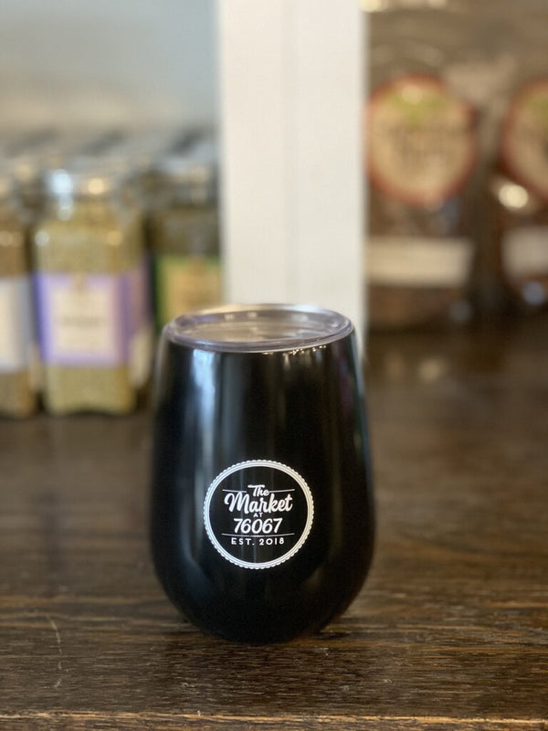 The Market Wine Tumbler (black)