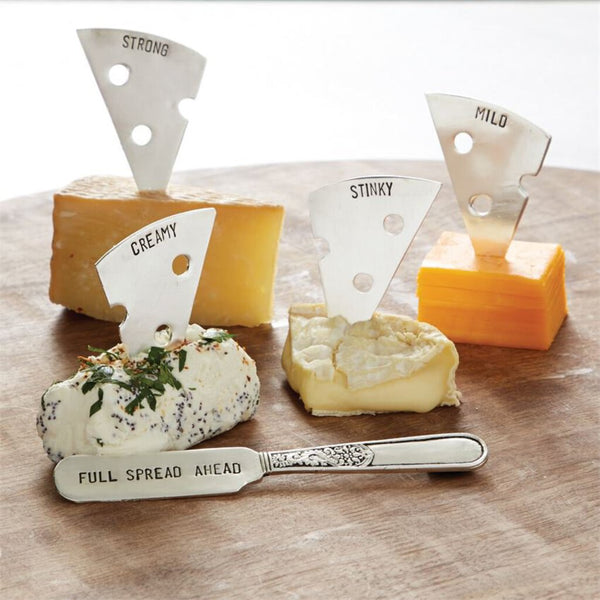 Mud Pie Cheese Marker & Spreader Set