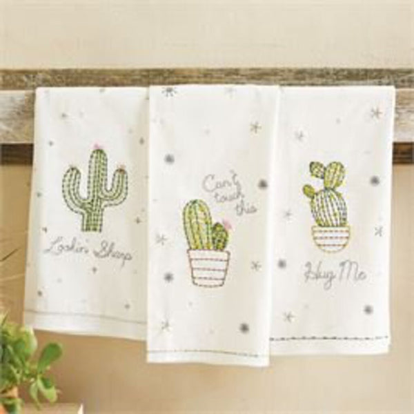 Mud PIe Embroidered Lookin Sharp Hand Towel