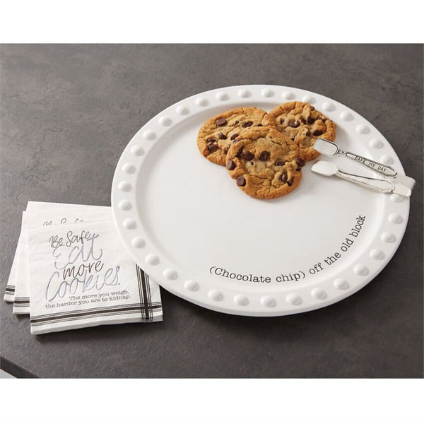 Mud Pie Cookie Plate Serving Set