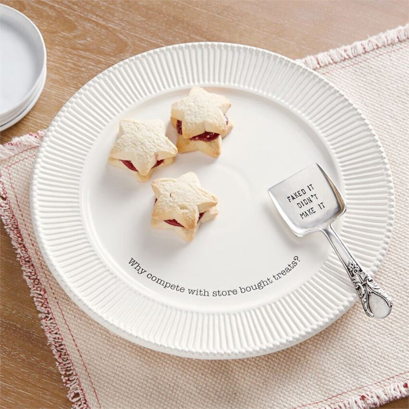 Mud Pie Store Bought Plate Set