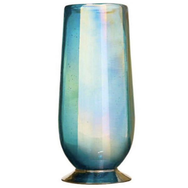 Jan Barboglio Glass Opalescent Water,Beer,Iced Tea
