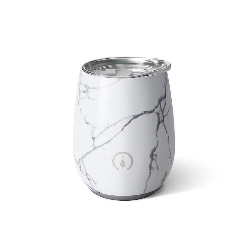 Stemless Wine Cup, 14 oz Marble Slab