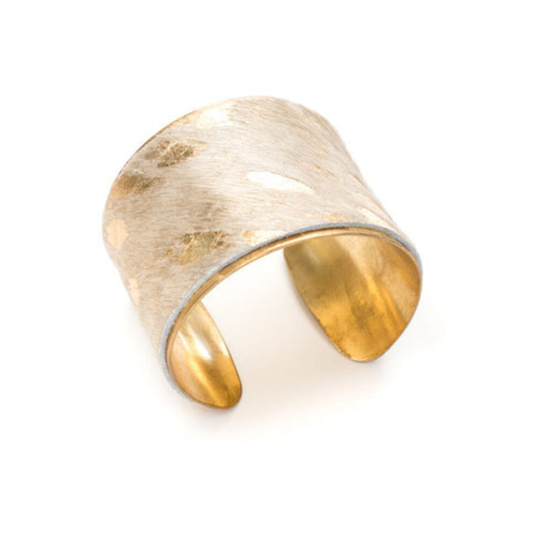 The Gold Acid Wash Cuff