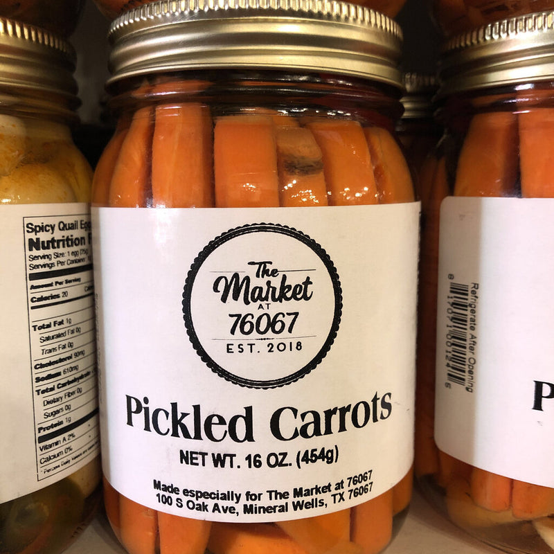 Pickled Carrots-16oz