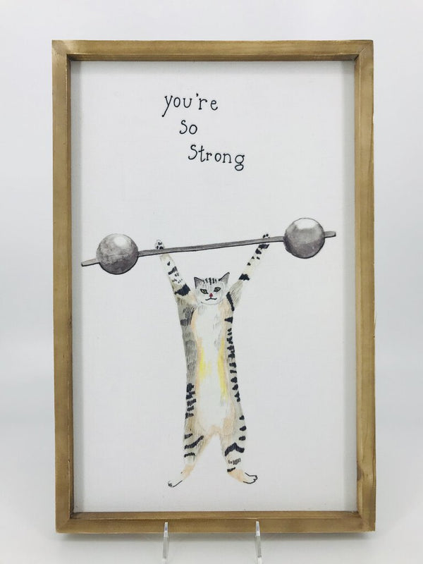 Frame Wall Decor - Cat