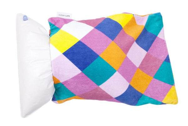 BEACH PILLOW | BLOCK PARTY