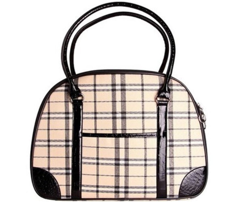 Milan Plaid Carrier