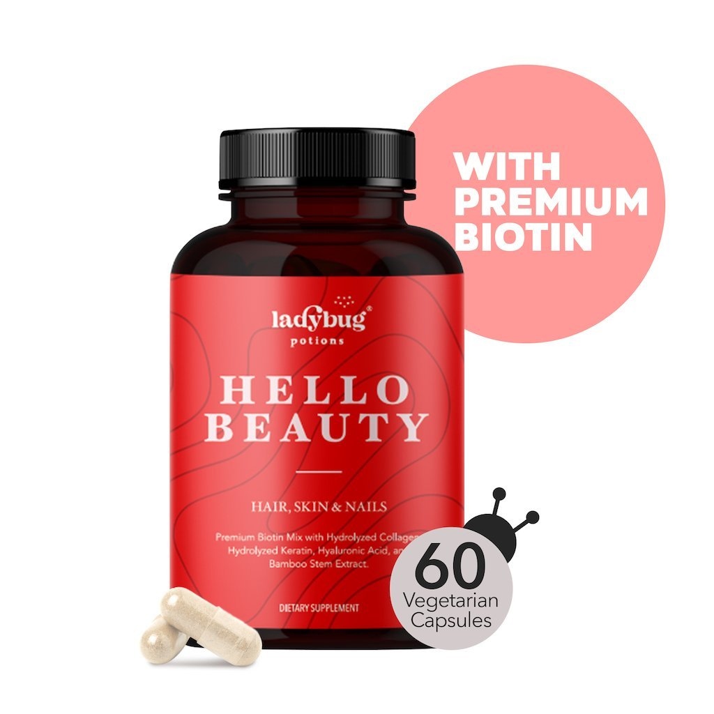 Ladybug Potions® Hello Beauty - Hair, Skin, & Nail Vitamins