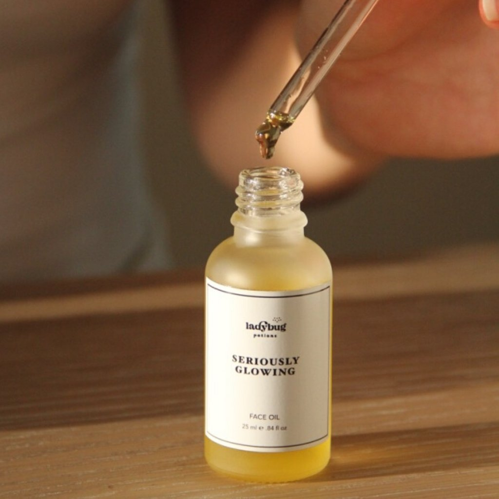 Seriously Glowing Face Oil - Ladybug Potions