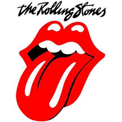 Logo med The Rolling Stones