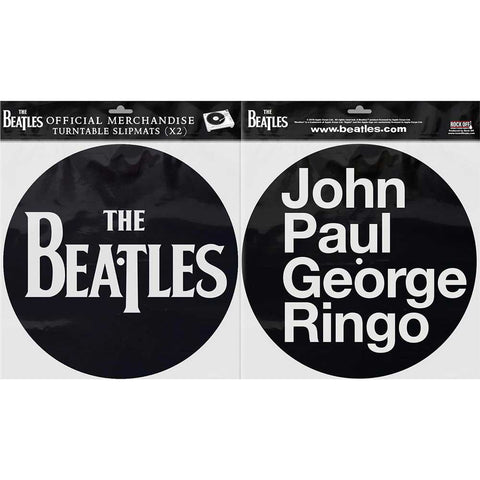Billede af The Beatles Drop T Logo & JPGR Turntable Slipmats