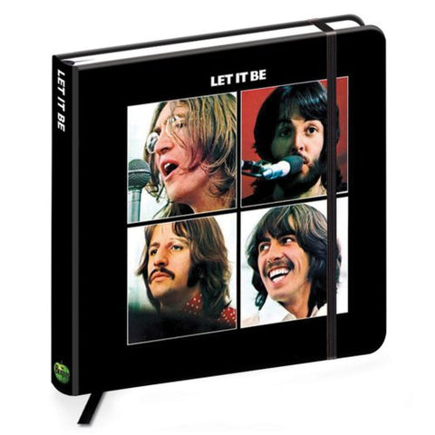 Billede af The Beatles Let it Be Notesbog