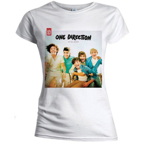 Billede af One Direction Up all night T-shirt til kvinder