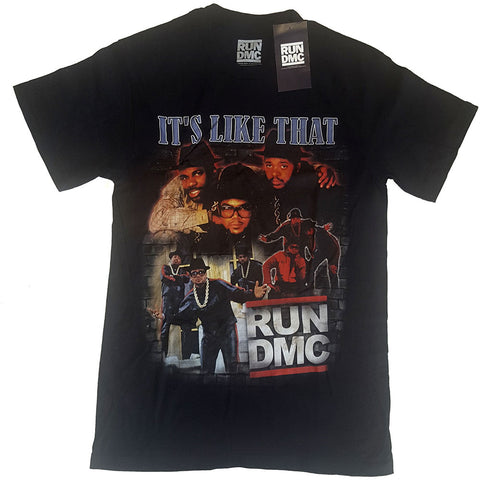 Billede af Run DMC It's Like That Homage T-shirt