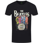 Billede af The Beatles Sgt Pepper T-shirt sort