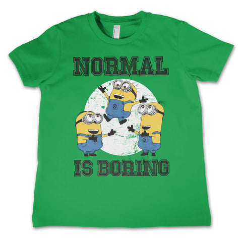Billede af Minions, Minions: Normal Life Is Boring T-Shirt (Børn)