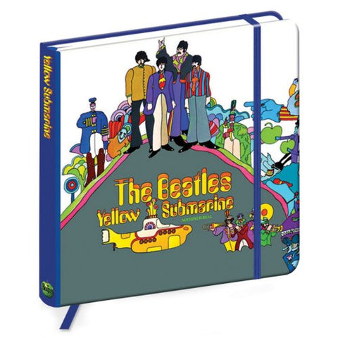 Billede af The Beatles Yellow Submarine Notesbog