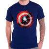 Billede af Marvel Comics Captain America Splat Shield T-shirt