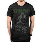 Billede af Queen News of the World 40th Full Cover T-shirt