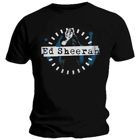 Billede af Ed Sheeran Dashed Stage Photo T-shirt