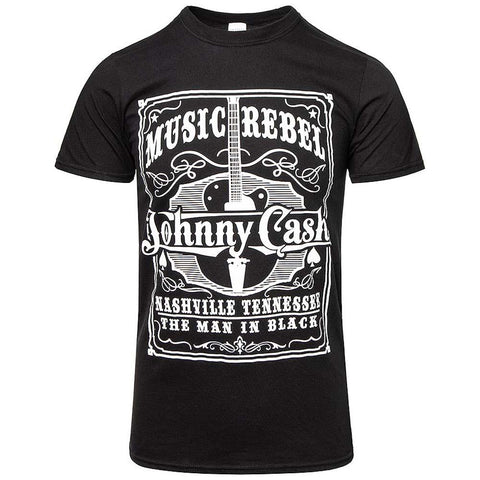 Billede af Johnny Cash Music Rebel T-shirt