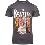 Billede af The Beatles Sgt Pepper T-shirt gray