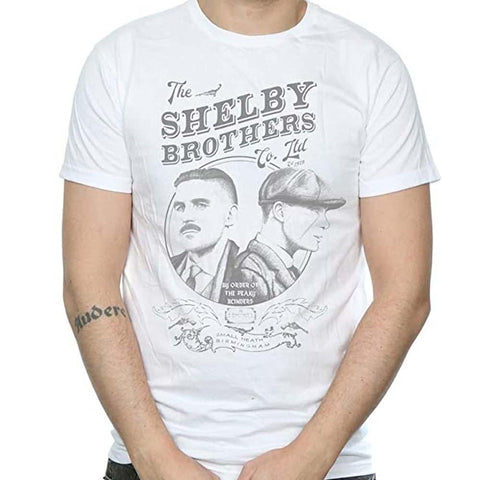 Billede af Peaky Blinders Shelby Brothers Circle Faces T-shirt