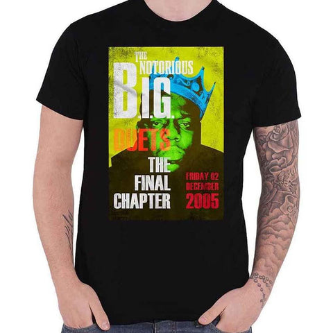 Billede af The Notorious B.I.G. Final Chapter T-shirt