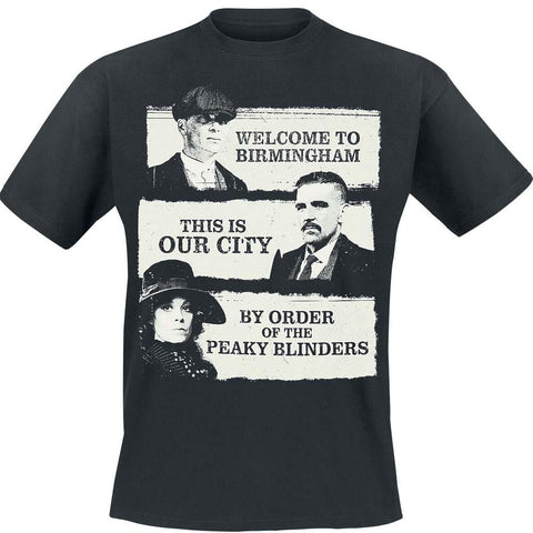 Billede af Peaky Blinders This Is Our City T-shirt